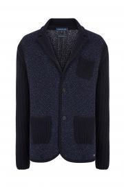 Kaşmir Karışımlı Triko Ceket
