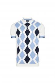 Baklava Desen Polo T-Shirt